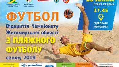 Пляжний футбол 2018